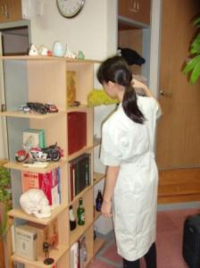 東林中学職場体験1