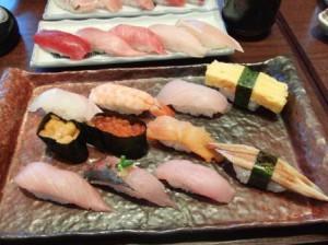 沼津磯丸のにぎり寿司