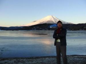 2014.1.2平野からの早朝の富士山