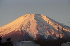 2014.1.1早朝紅富士